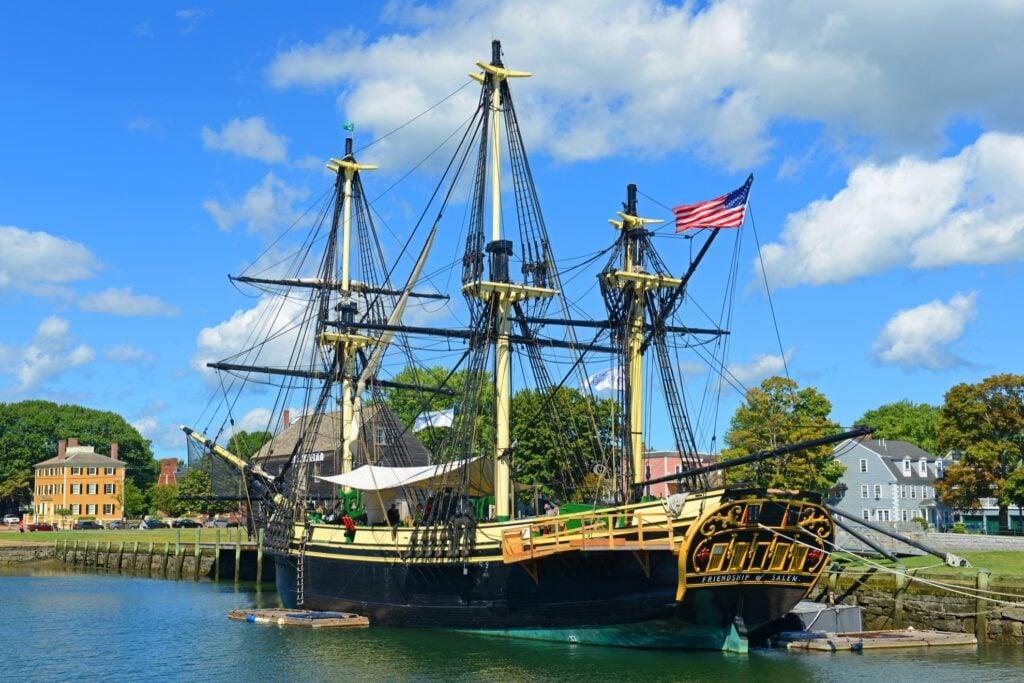 The Salem Maritime National Historic Site.