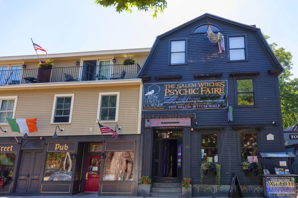The Salem Psychic Fair and Witches' Market.