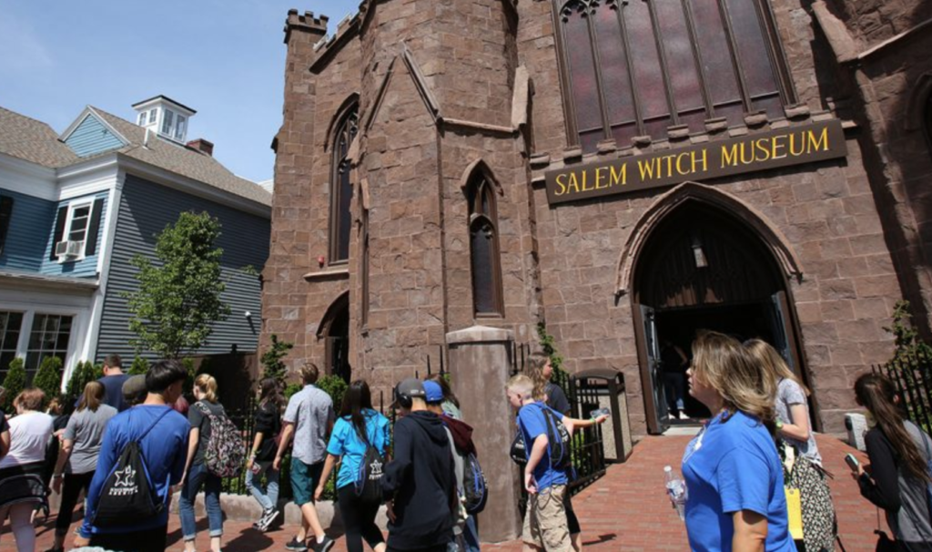 The Salem Witch Museum.