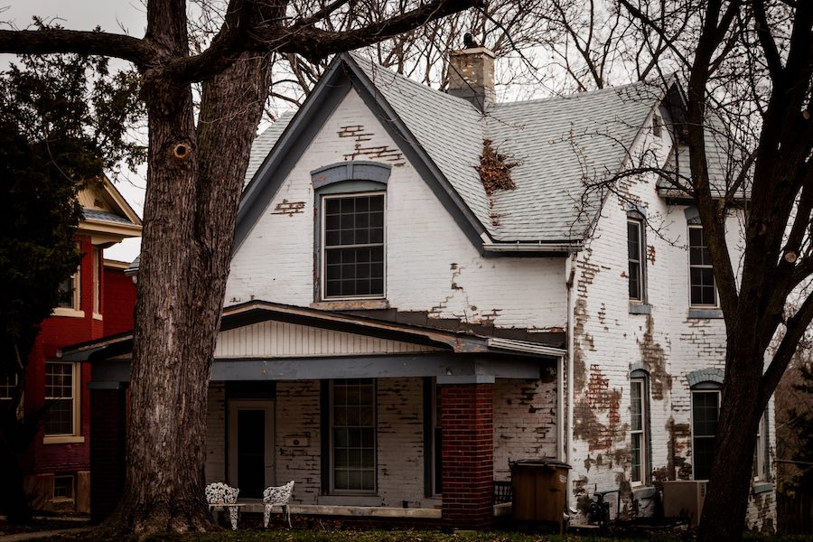 The Sallie House in Atchinson, Kansas.