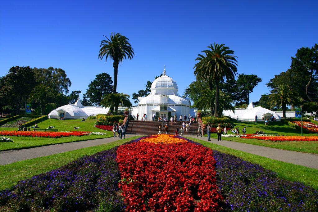 The San Francisco Botanical Garden in San Francisco, California