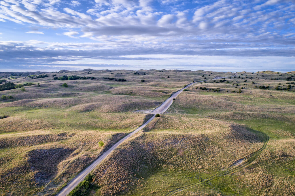 The Sandhills of Nebraska.