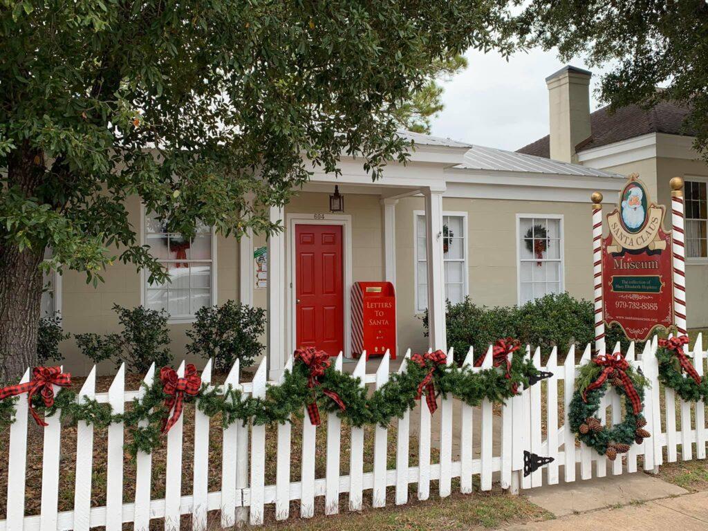 The Santa Claus Museum in Columbus, Texas.
