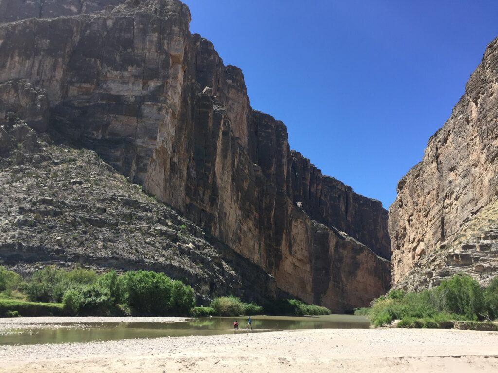 The Santa Elena Canyon in Big Bend National Park.