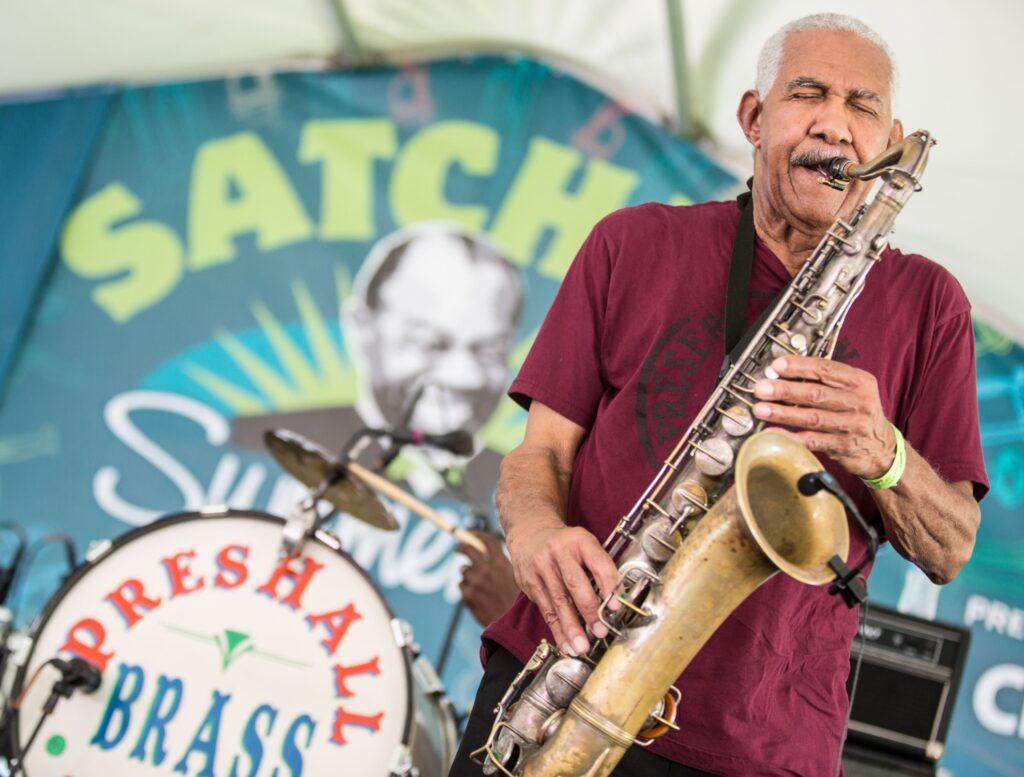 The Satchmo Summerfest in New Orleans.