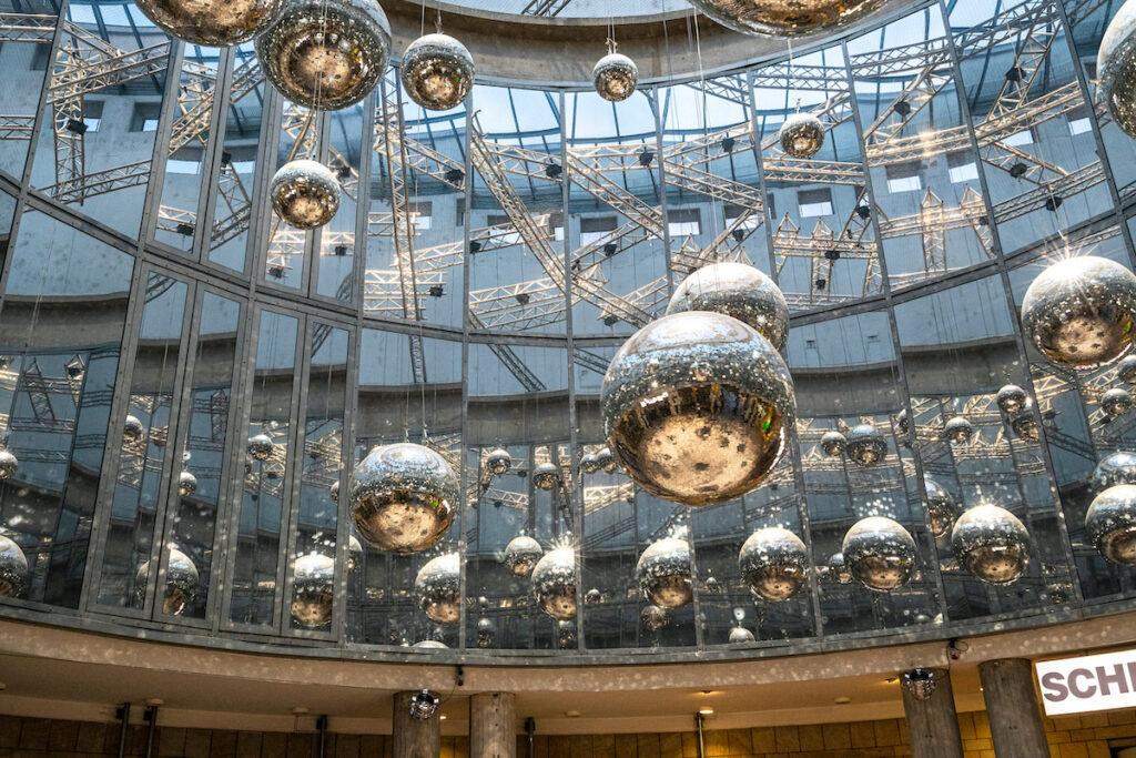 The Schirn Kunsthalle in Frankfurt, Germany.