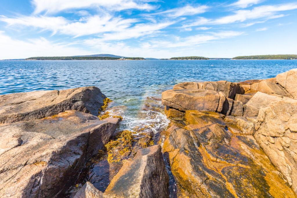 The Schoodic Peninsula in Acadia National Park, Maine.