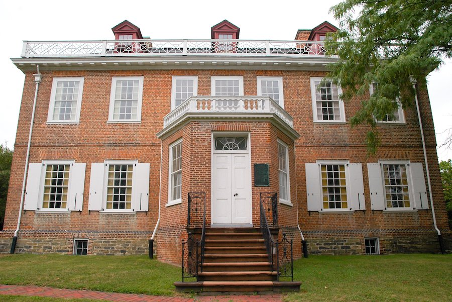 The Schuyler Mansion in Albany, New York.