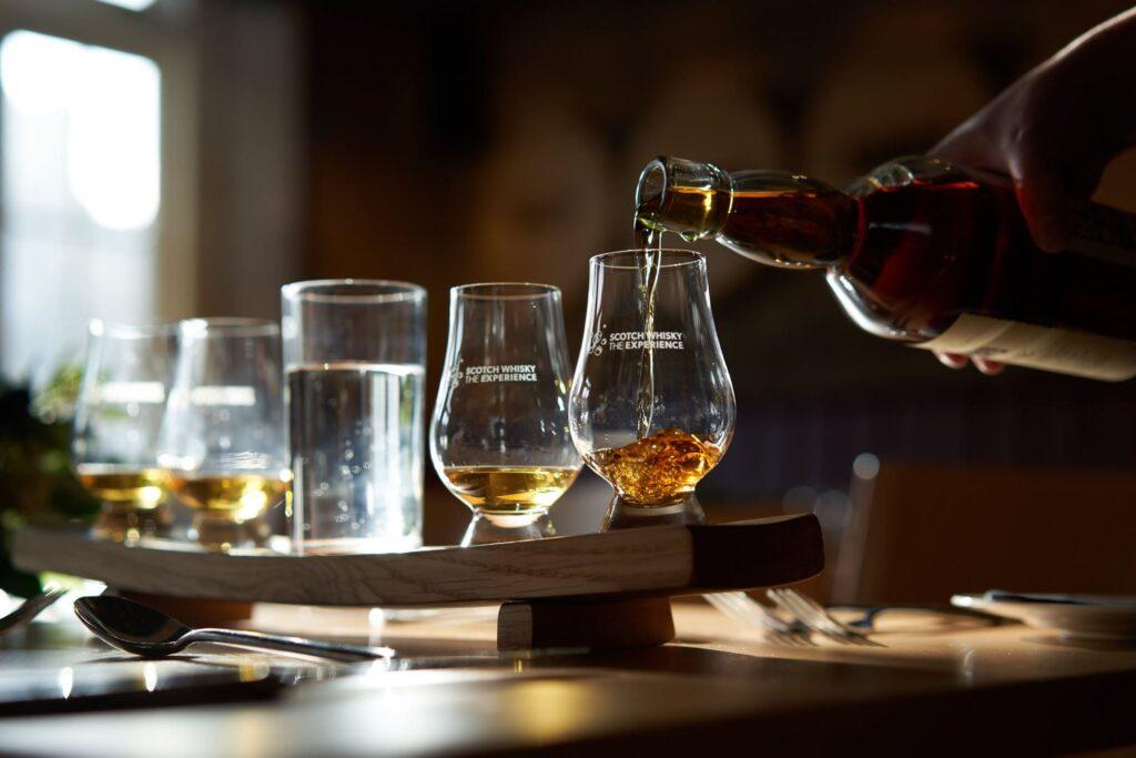 The Scotch Whisky Experience in Edinburgh.