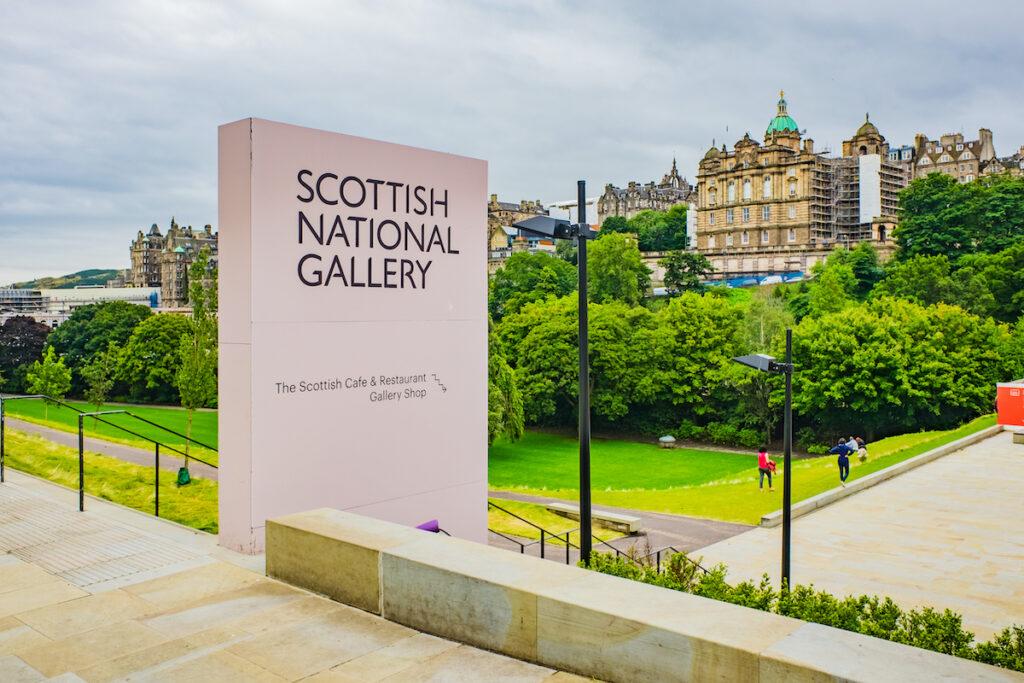 The Scottish National Portrait Gallery in Edinburgh.