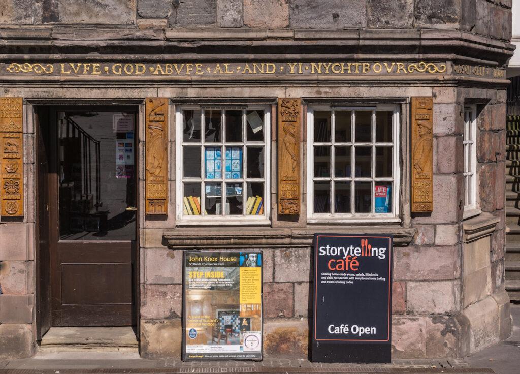 The Scottish Storytelling Centre in Edinburgh.