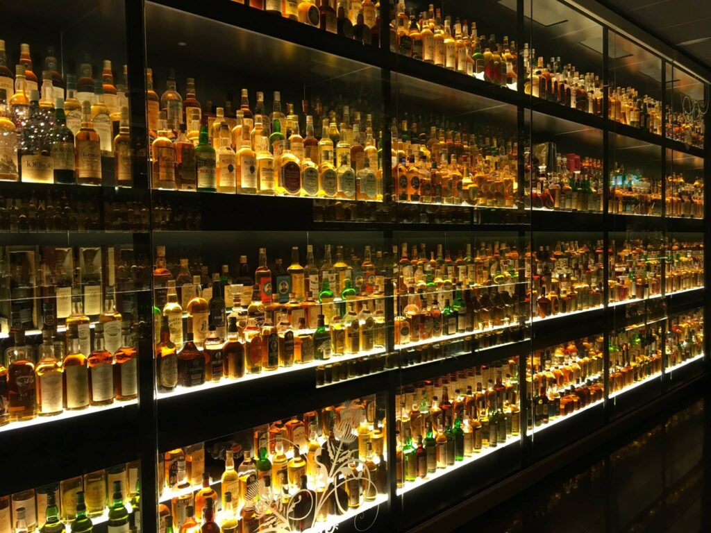 The Scottish Whisky Experience's collection.