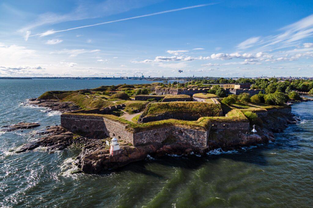 The sea fortress of Suomenlinna.