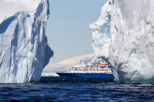 The Sea Spirit in Antarctica.