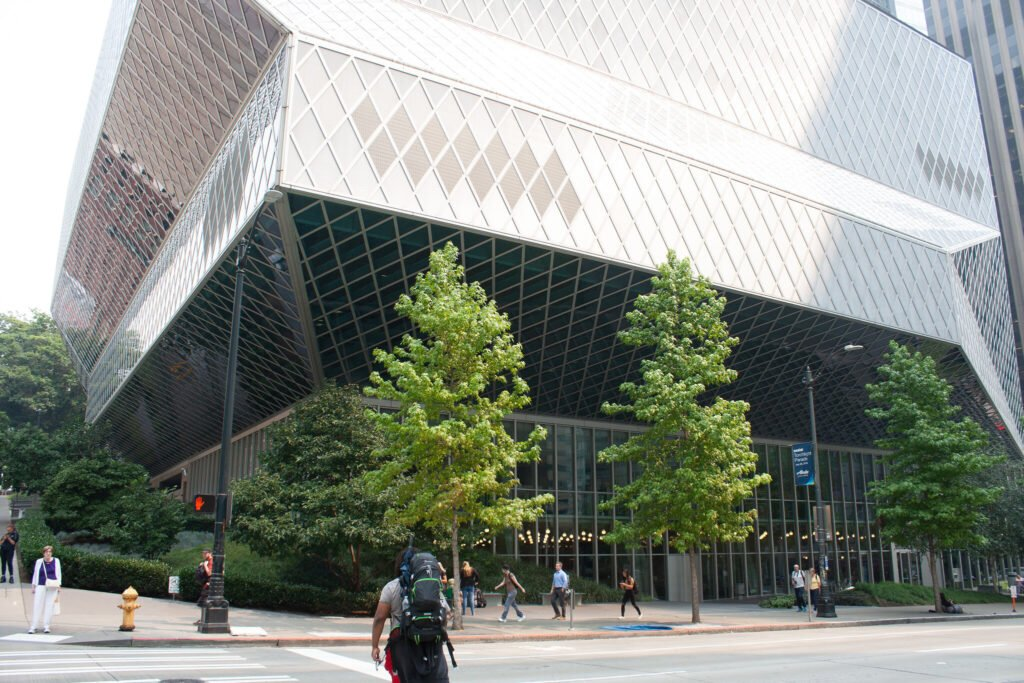 The Seattle Public Library.