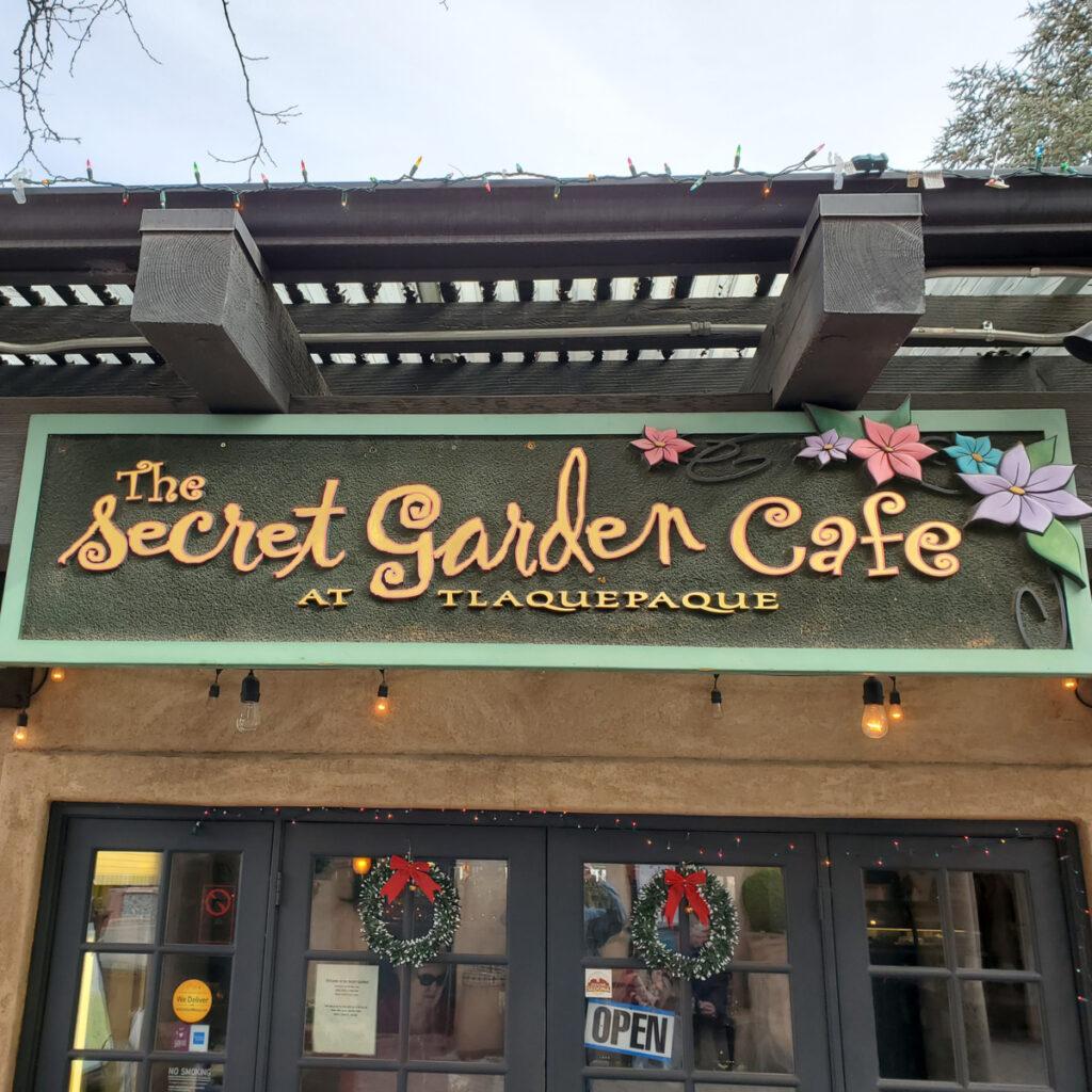 The Secret Garden Cafe in Sedona, Arizona.