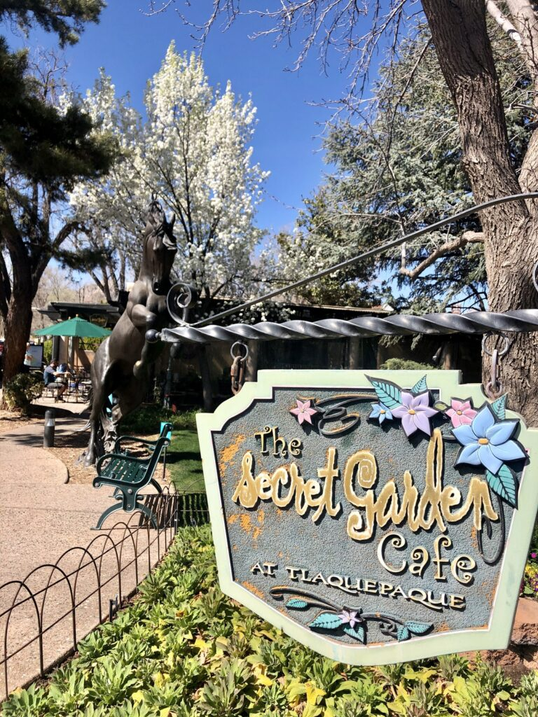 The Secret Garden Cafe in Sedona.