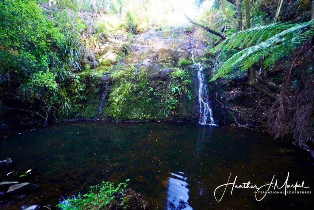 The Secret Waterfall near Te Wairere.