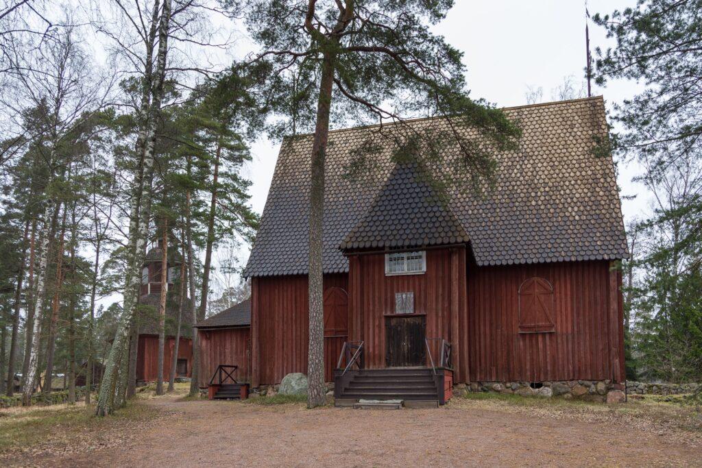 The Seurasaari Open-Air Museum in Finland.
