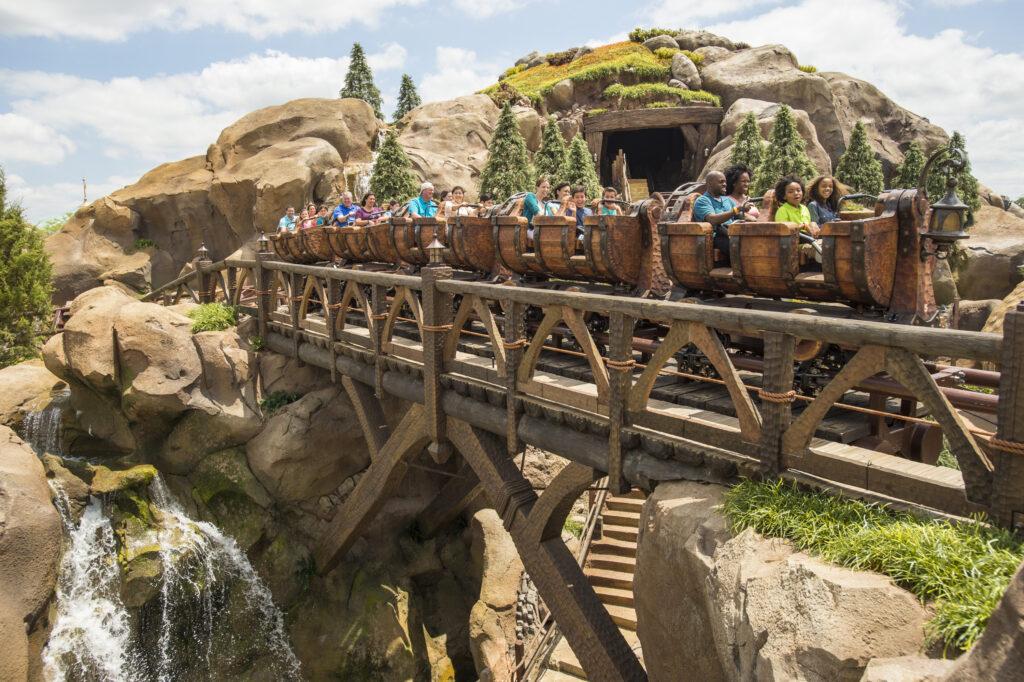 The Seven Dwarfs Mine Train.