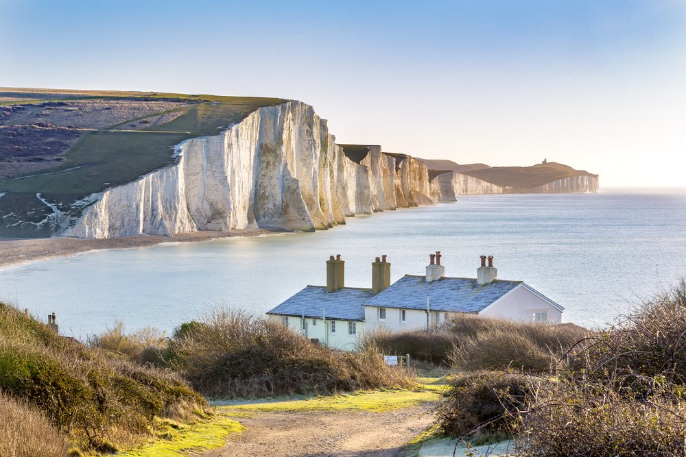 The Seven Sisters in South Downs National Park.