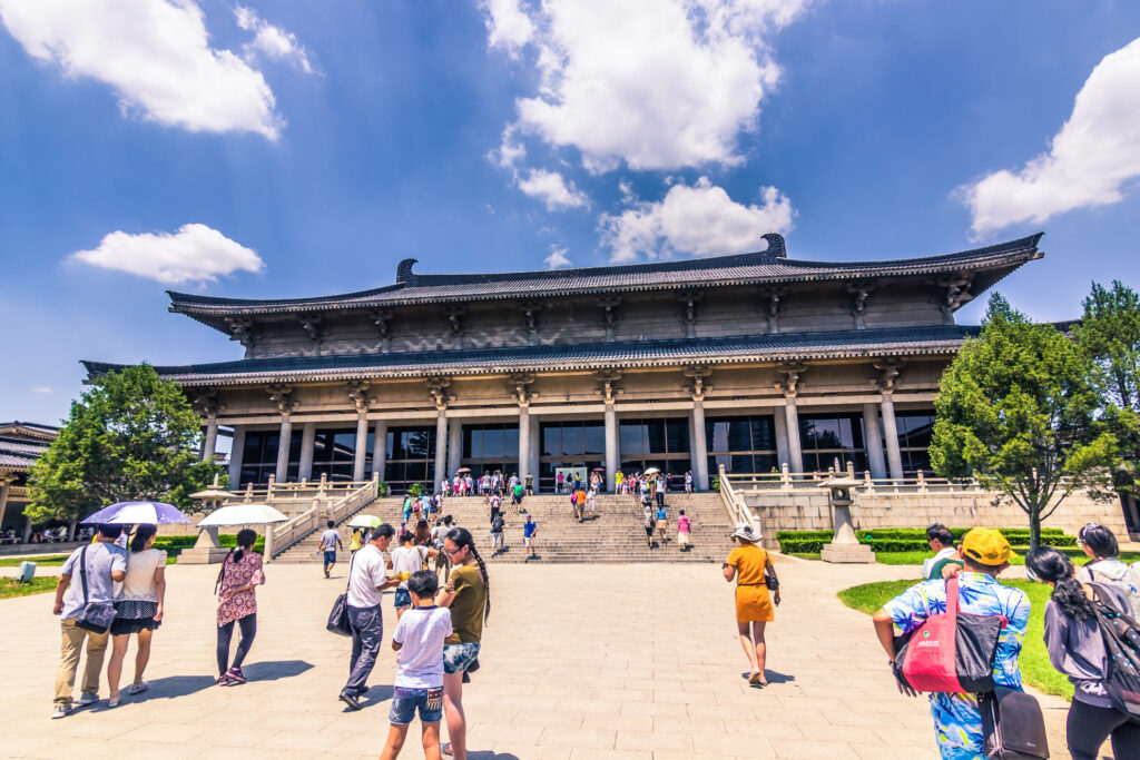 The Shaanxi Museum in Xi'an.