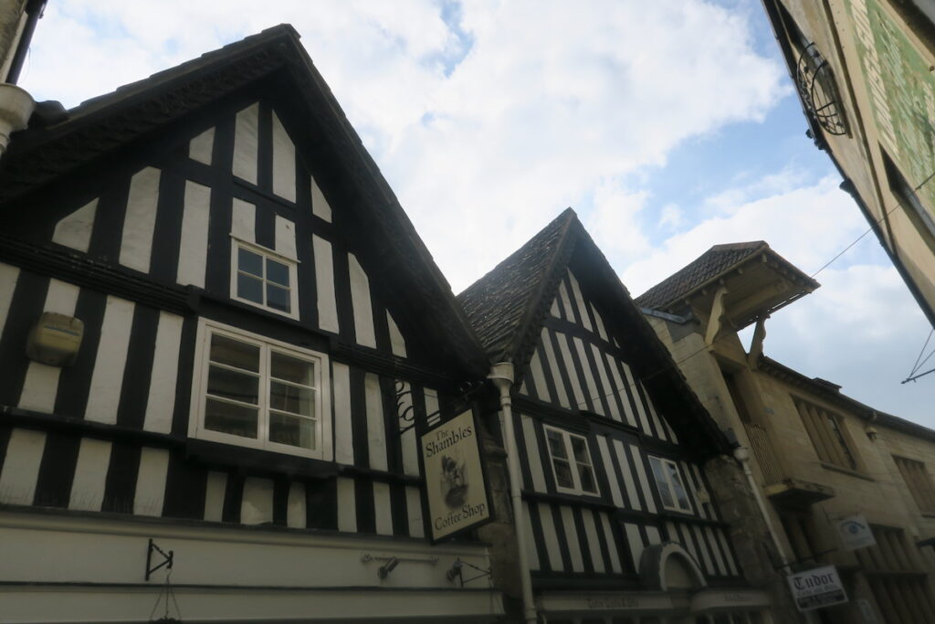 The Shambles in Bradford-On-Avon in West Wiltshire.