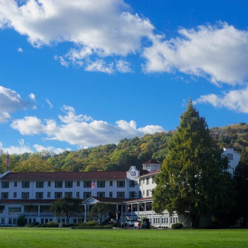 The Shawnee Inn and Golf Resort in the Poconos.