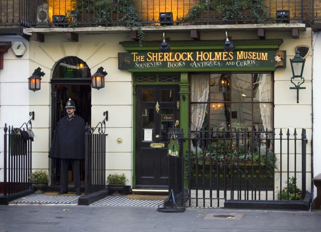 The Sherlock Holmes Museum in Marylebone.