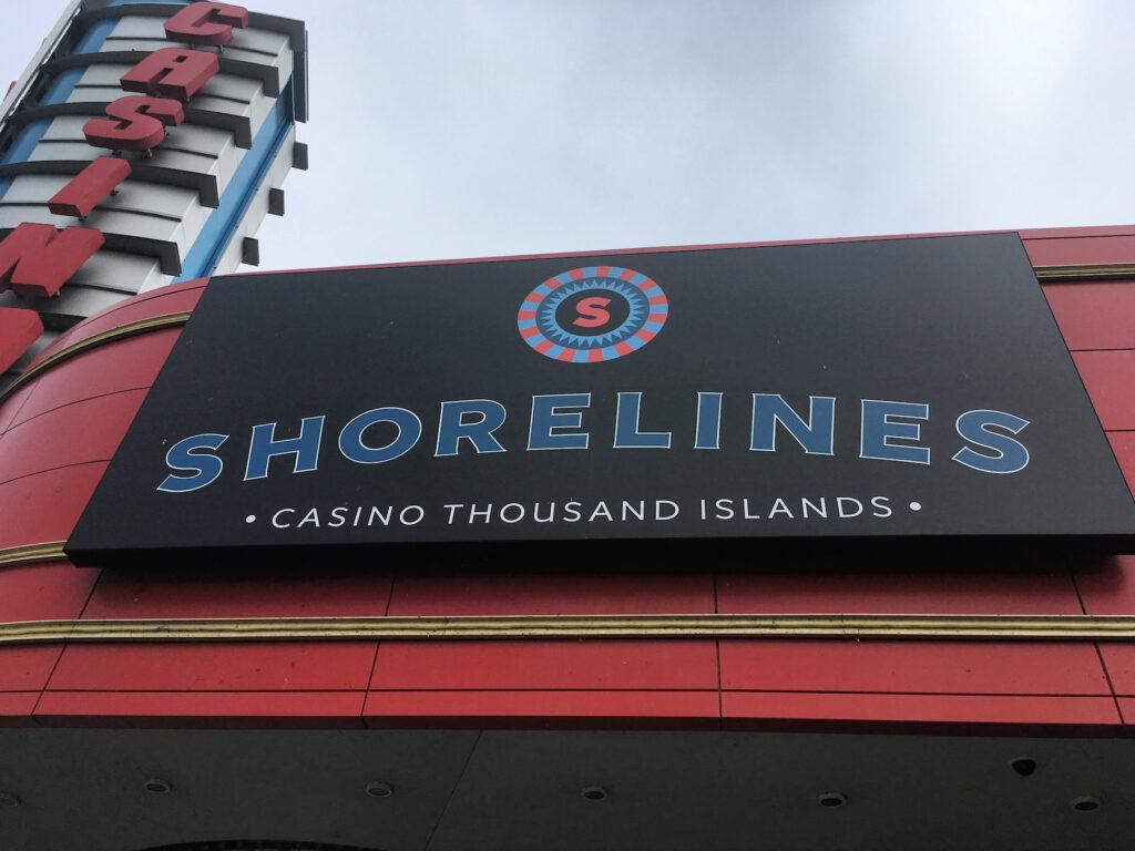 The Shorelines Casino in the Thousand Islands.