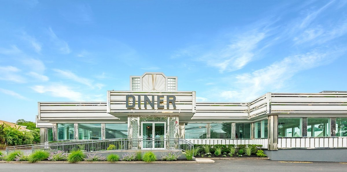 The Silver Lining Diner in Southampton, New York.