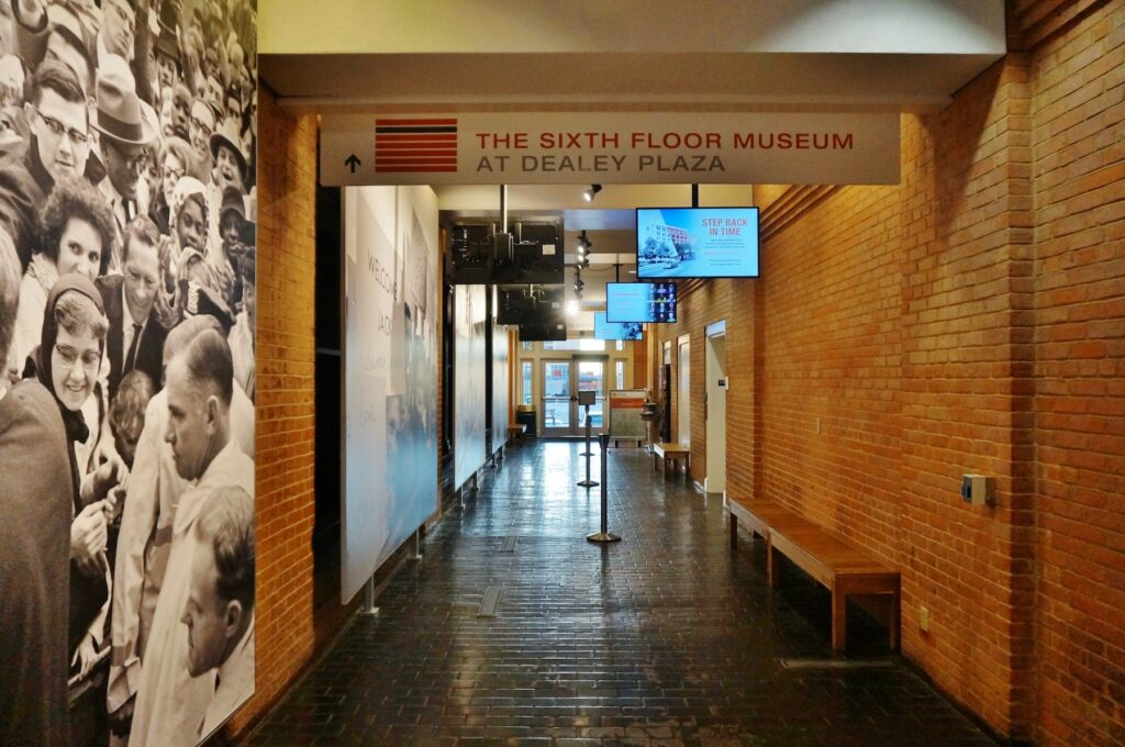 The Sixth Floor Museum at Dealey Plaza in Dallas.