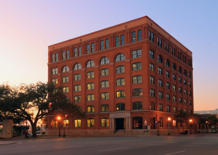 The Sixth Floor Museum at Dealey Plaza.