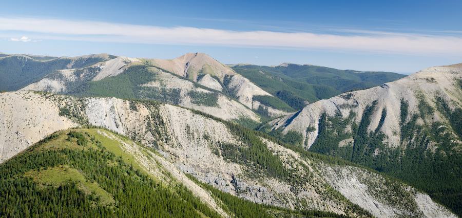 The Skyline Trail in Jasper, Canada.
