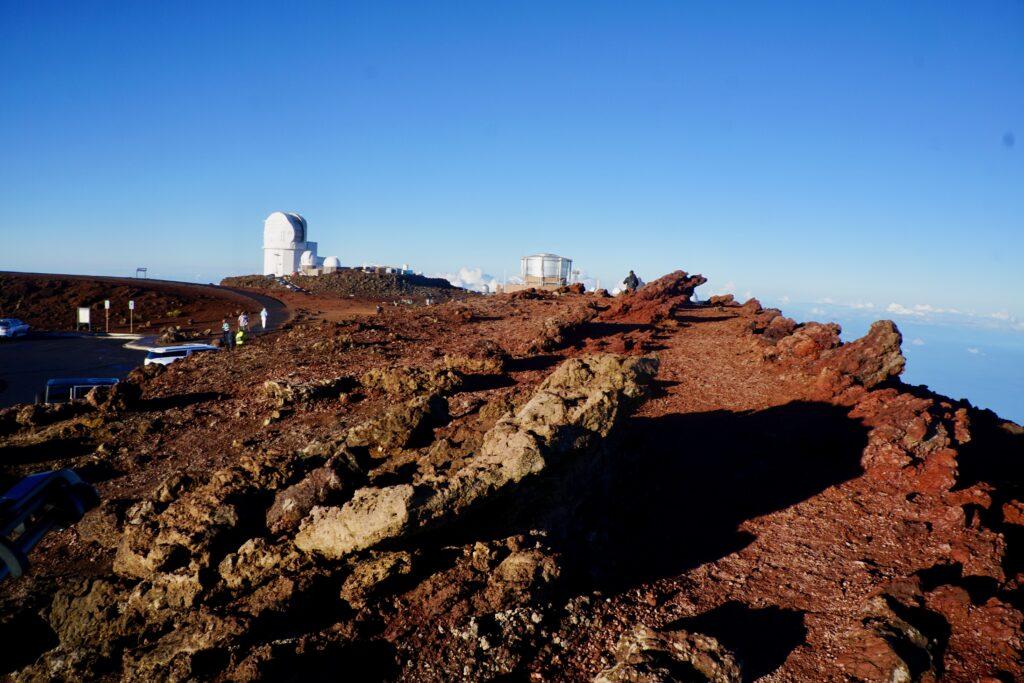 The Sliding Sands Trail in Haleakala National Park.