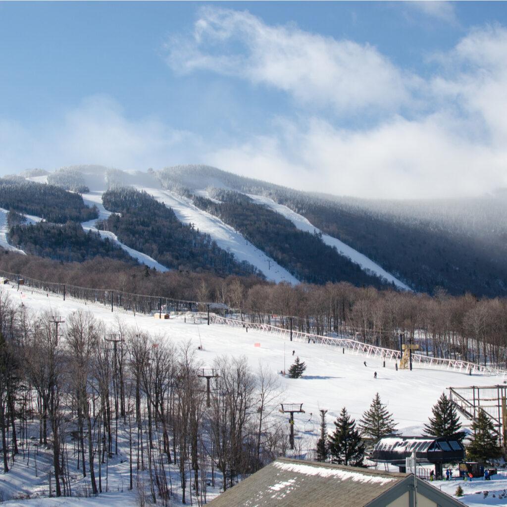 The slopes at Killington Ski Area in Vermont.