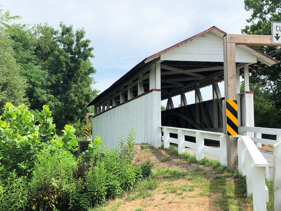 The Snooks Covered Bridge in Bedford County.