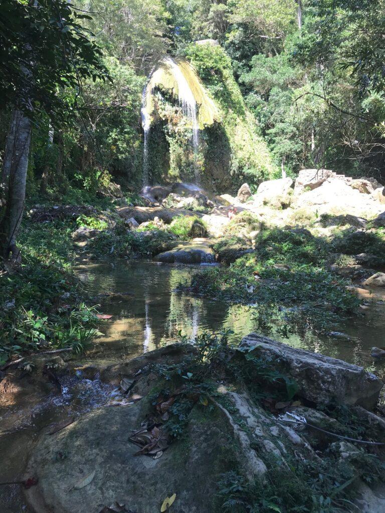 The Soroa Waterfall in Cuba.
