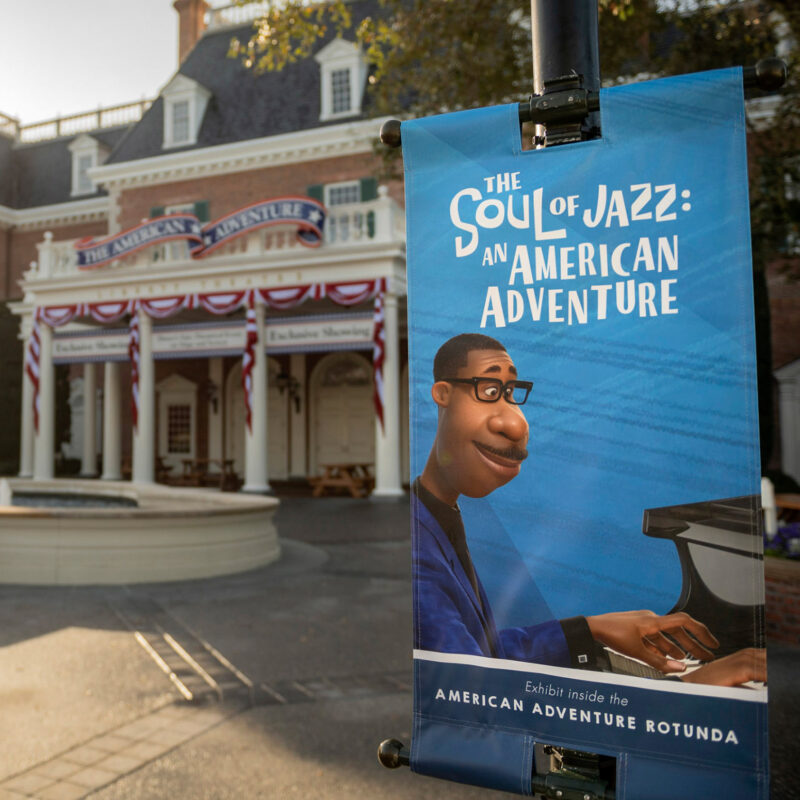 The Soul of Jazz: An American Adventure at Epcot.