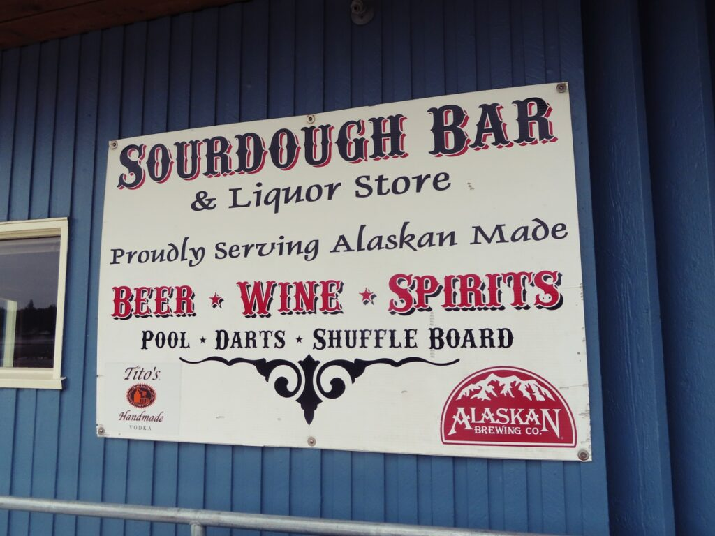 The Sourdough Cocktail Bar in Ketchikan.