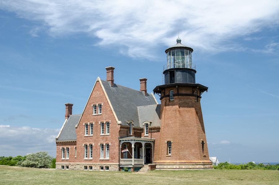 The Southeast Light on Block Island.
