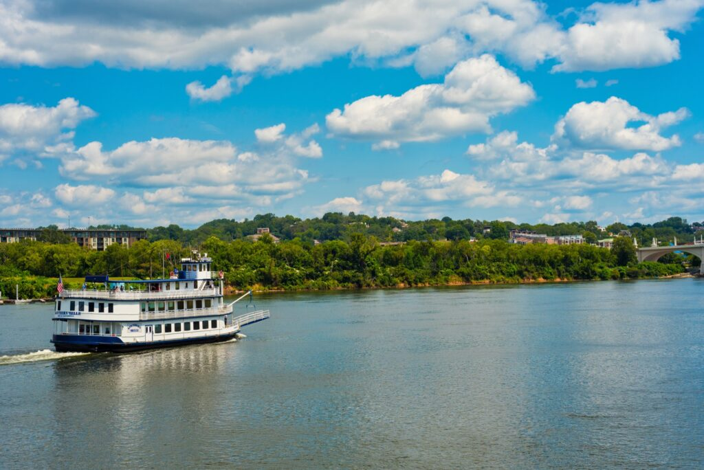 The Southern Belle in Chattanooga.