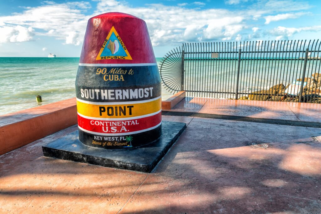 The Southernmost Point in the continental U.S.A.