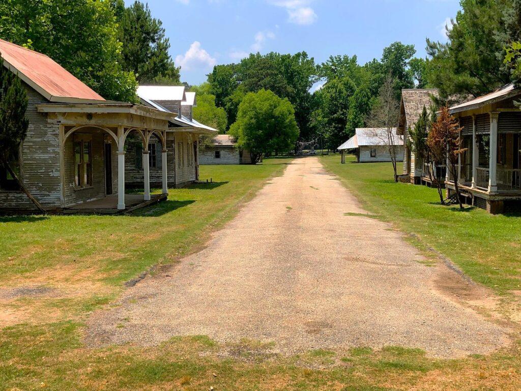 The Spectre ghost town near Millbrook, Alabama.