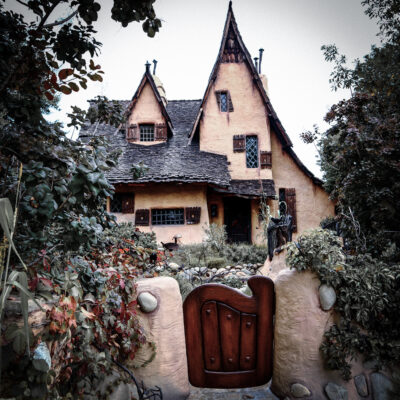 """The spooky Beverly Hills """"Witch House"""" in California."""