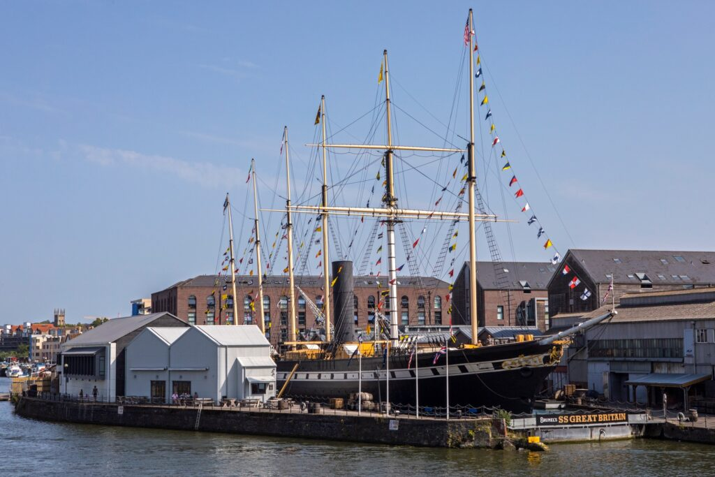 The SS Great Britain in Bristol.