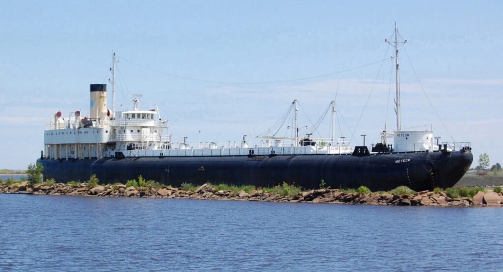 The SS Meteor in Duluth, Minnesota.