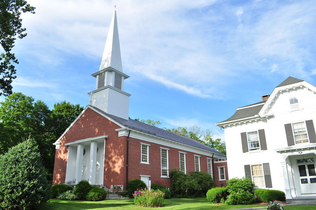 The St. Anthony of Padua Church in Litchfield.