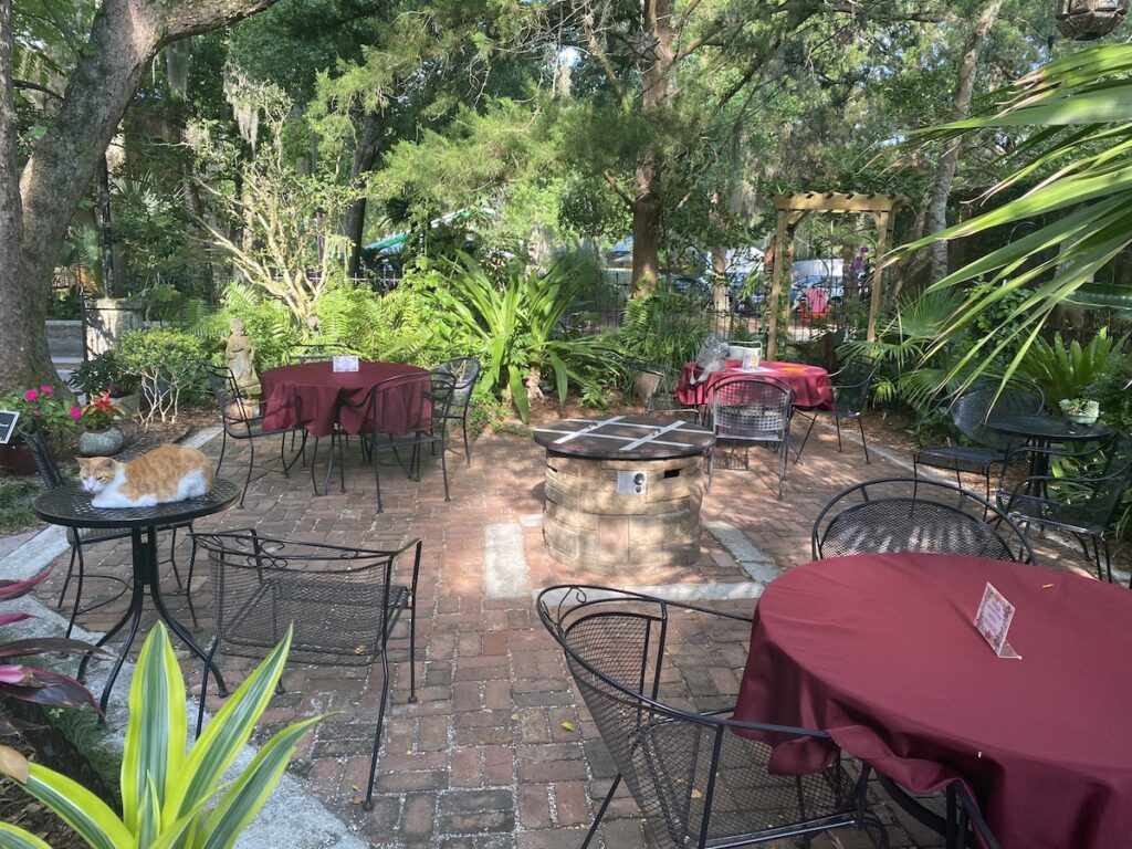 The St. Francis Inn bed and breakfast in Florida.