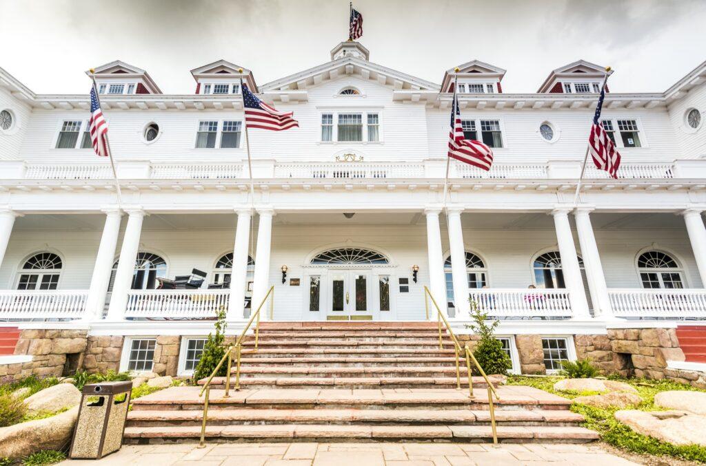 The Stanley Hotel in Estes Park.